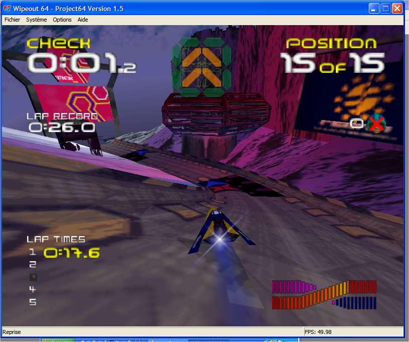 Screenshot 3 du jeu WipeOut 64
